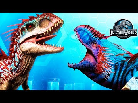 Идеальный Бой Динозавров Jurassic World The Game прохождение