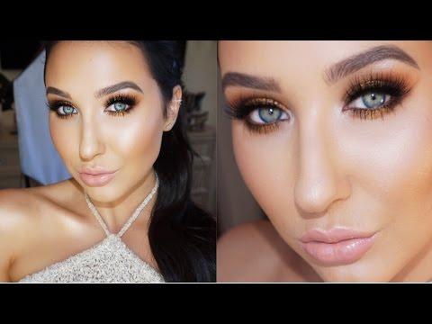 Bronze Gold Smokey Eye   Jaclyn Hill