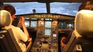 Kids Landing a Plane