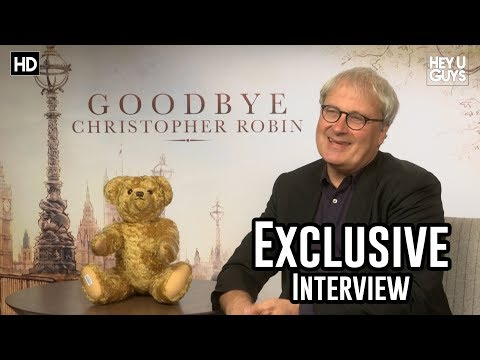Director Simon Curtis - Goodbye Christopher Robin Exclusive Interview