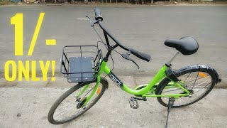 Rent Cycles For Rs.1!!! Awesome Concept By Zoomcar || Pedl cycle || How to Book ?