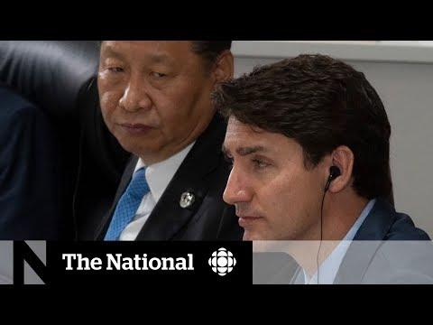 Trudeau had вbrief, constructive interactionsв with Xi Jinping at G20