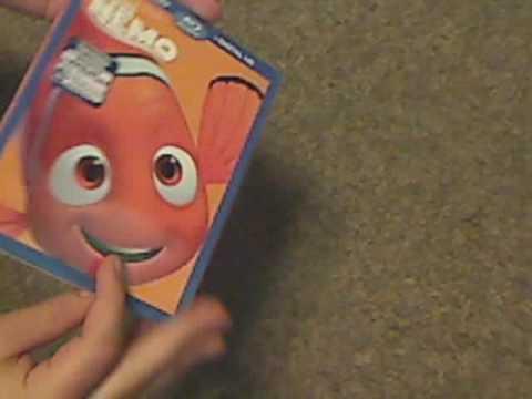 Blu ray unboxing: pixar: Finding Nemo