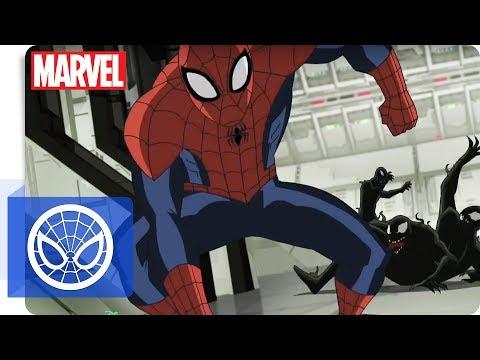 Der ultimative Spider-Man - Clip: Die Venom-Infizierung   Marvel HQ Deutschland