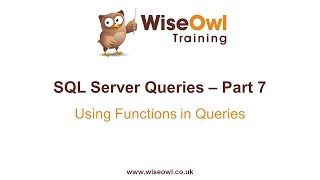 SQL Server Query-Writing Tutorial