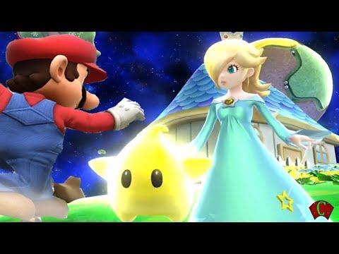 Super Smash Bros 4 Characters: Rosalina & Luma Trailer (WII U / 3DS Gameplay) 2014 【All HD】