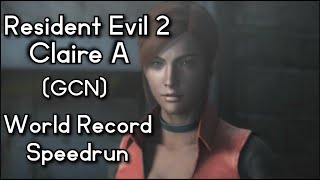 (World Record) Resident Evil 2 - Claire A - 51:43 RTA - 1:06:40 IGT (Gamecube)