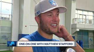 Matthew Stafford goes one-on-one