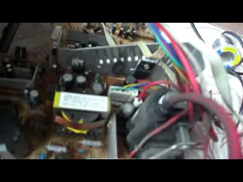 How to Repair Television - Vertical Line part 1