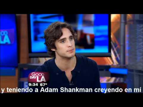 Diego Boneta on Good Day LA (subtitulado)