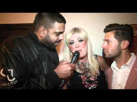 TOWIE EXCLUSIVE! GEMMA COLLINS & CHARLIE KING INTERVIEW FOR iFILM LONDON / HARRY DERBIDGE 18TH