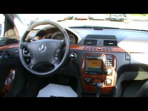 2000 Mercedes S320 cdi automatik with PULSE massage Review.Start Up. Engine. and In Depth Tour