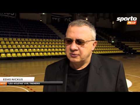 SportoTV.lt V.Sirvydis:  Maksimaliai išnaudojame laisvą laiką, todėl darbas turi duoti vaisių