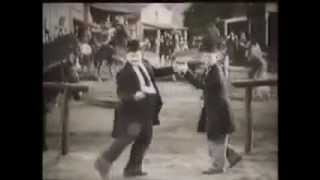 Laurel and Hardy Dance To  mozart