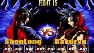 [TAS] Bloody Roar 2 Shen Long Survival play 1~22