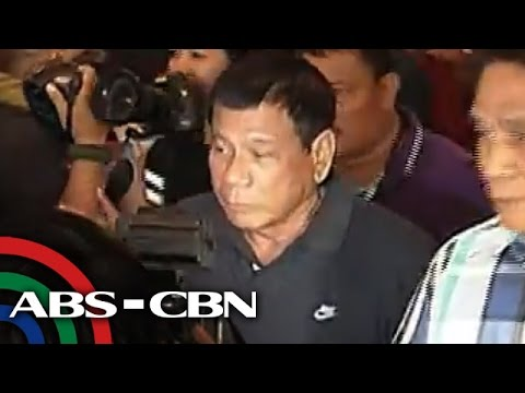 Duterte agrees to open bank account for scrutiny