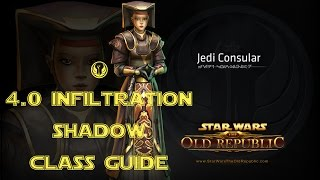 SWTOR 4.0 Infiltration Shadow Class and Rotation Guide
