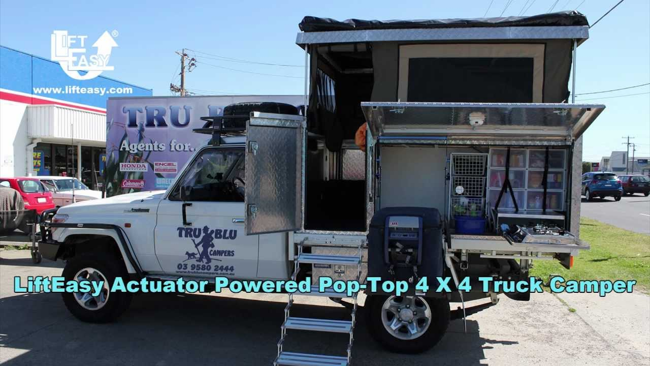 Trublu Pop Top 4x4 Truck Camper Youtube