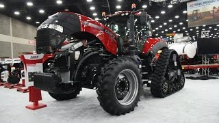 2016 National Farm Machinery Show Case IH Exhibit
