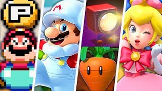 Evolution of Special Super Mario Power-Ups (1988 - 2018)