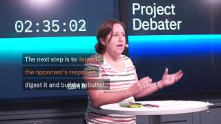 How IBM Project Debater works