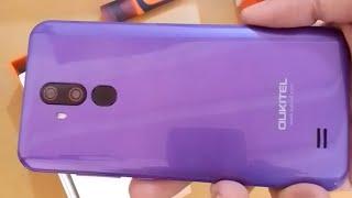 oukitel c12 pro purple review unboxing