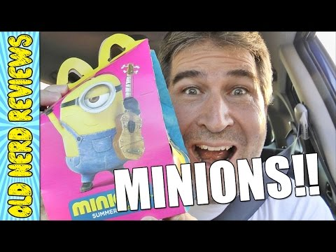 McDonald's Minions Happy Meal REVIEW