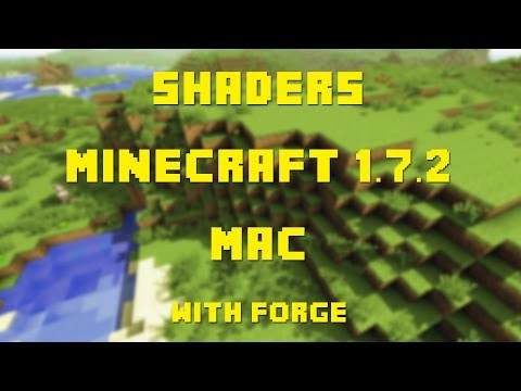 How to Install Shaders for Minecraft 1.7.2 (Mac OSX 10.7.3+)