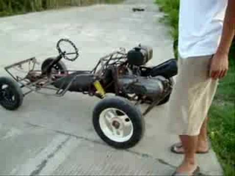Homemade go cart - Paoay, Philippines