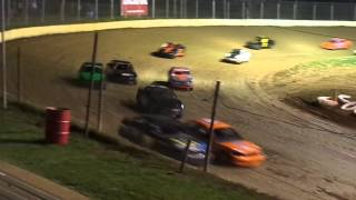 florence speedway hornet feature clip 4-13-13