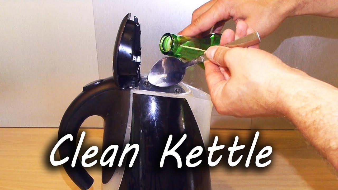 Как очистить накипь в электрическом чайнике в домашних условиях