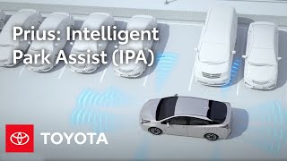 2016 Toyota Prius How-To: Intelligent Park Assist (IPA) | Toyota