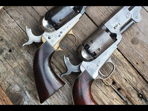 Original Colt 1851 Navy vs Uberti repro
