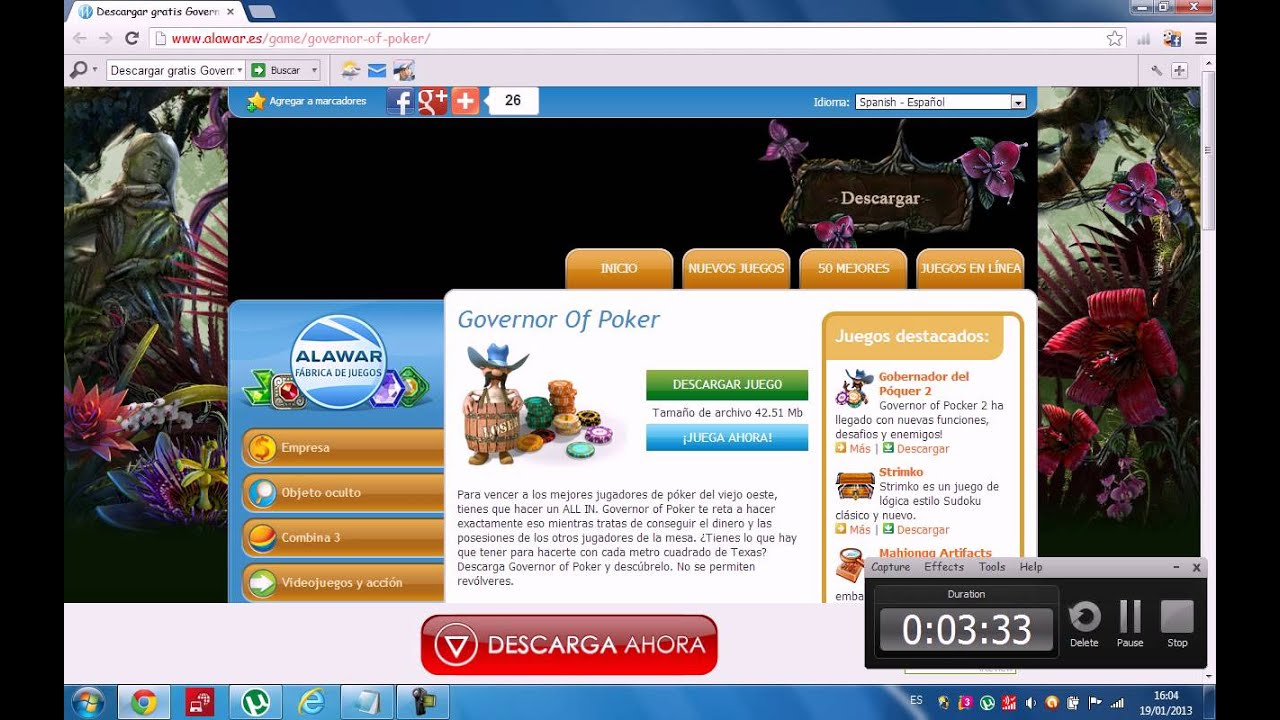 Governor del poker 1 descargar gratis completo