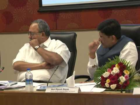 Presentation of Power sector in Gujarat before Union minister Piyush Goyal