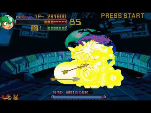 Mega Man 2: The Power Fighters (USA 960708) - Foodperson Attempts...Vizzed.com Play - User video