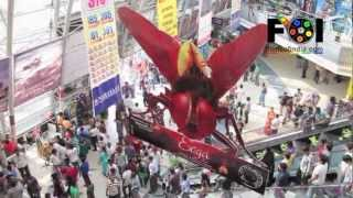 Eega - Promotional Step Of 'EEGA' Telugu Movie At IMAX Cinema