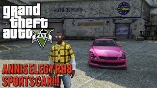 GTA 5 Online: Tips & Secrets - How To Get The Annis Elegy RH8 Sports Car
