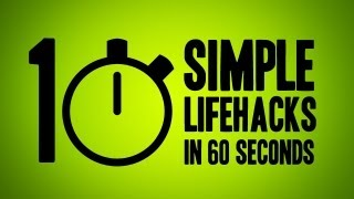 10 Simple Ways to Upgrade Your Life in 60 Seconds