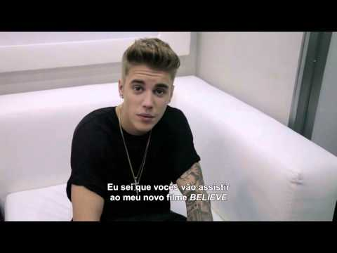 Justin Bieber Envia Recado Para F S Do Brasil Believe ...