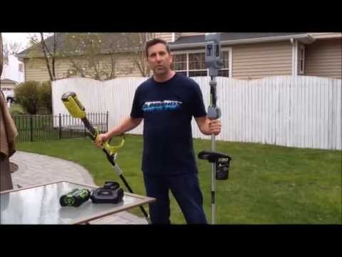 EGO Cordless String Trimmer 56 volt - review and demo