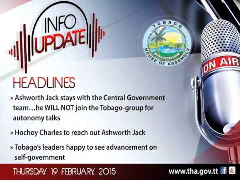 InfoUpdate - Thursday 19 February, 2015
