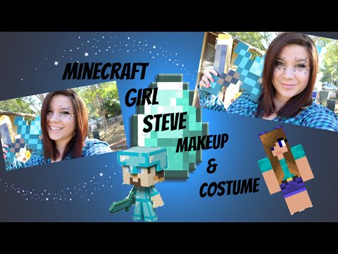 Minecraft Makeup Series Girl