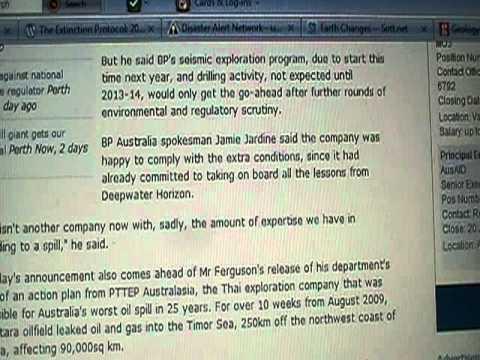 BP Receives Deepwater Exploration Rights off Australia