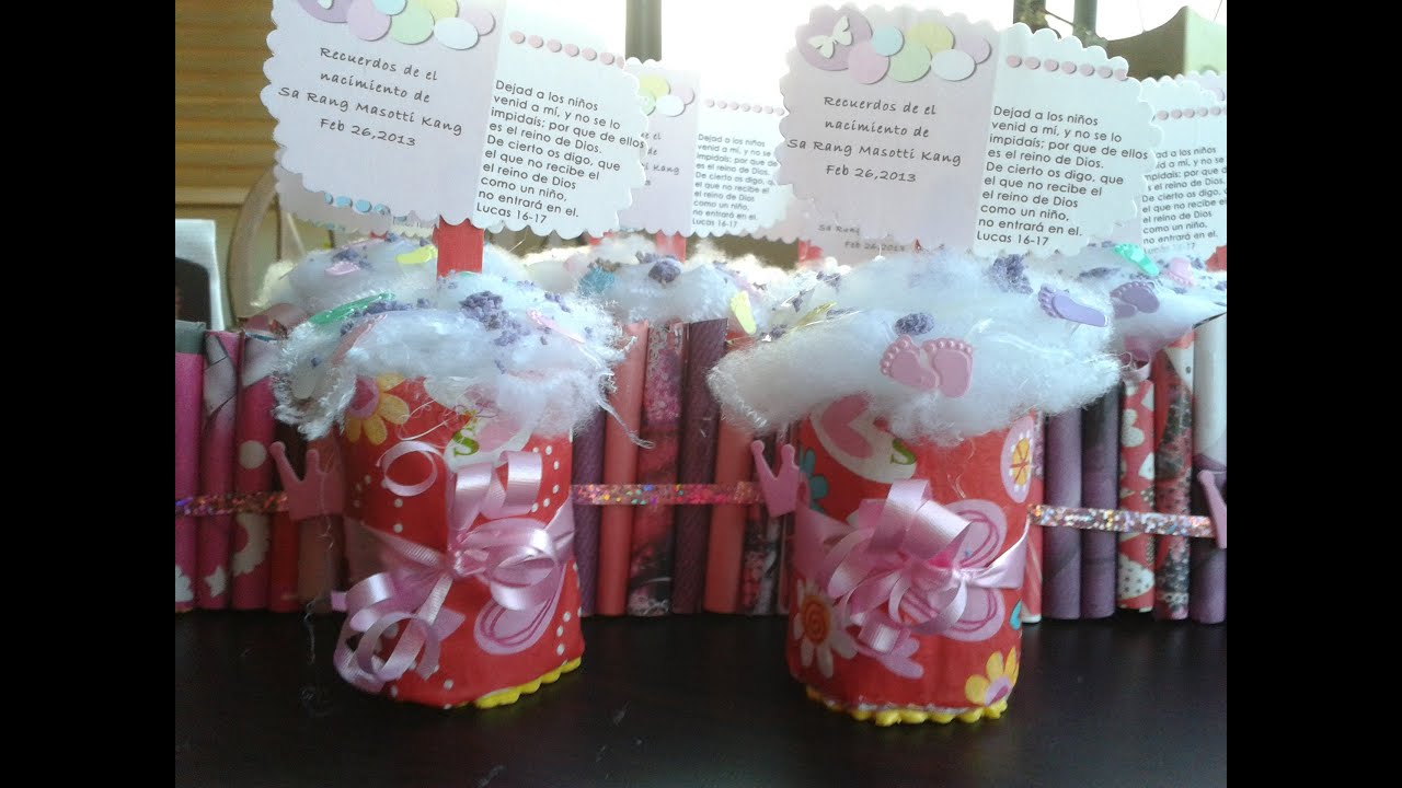 recordatorios para baby shower heladitos youtube