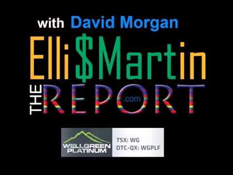 Ellis Martin Report with David Morgan on the Back 40  New Hope for Gold Jrs