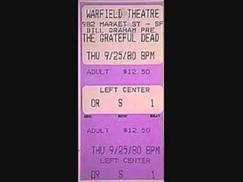 Grateful Dead - Monkey And The Engineer Live