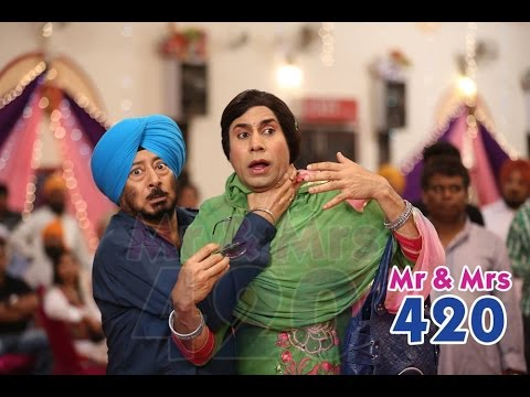 Double Role - Latest Punjabi Comedy Scene 2014 - Lokdhun Punjabi video