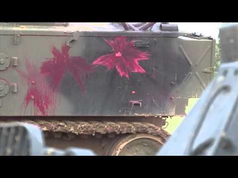Peintbols ar tankiem