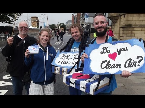I ♥ Clean Air: A Glasgow Commonwealth Games Legacy